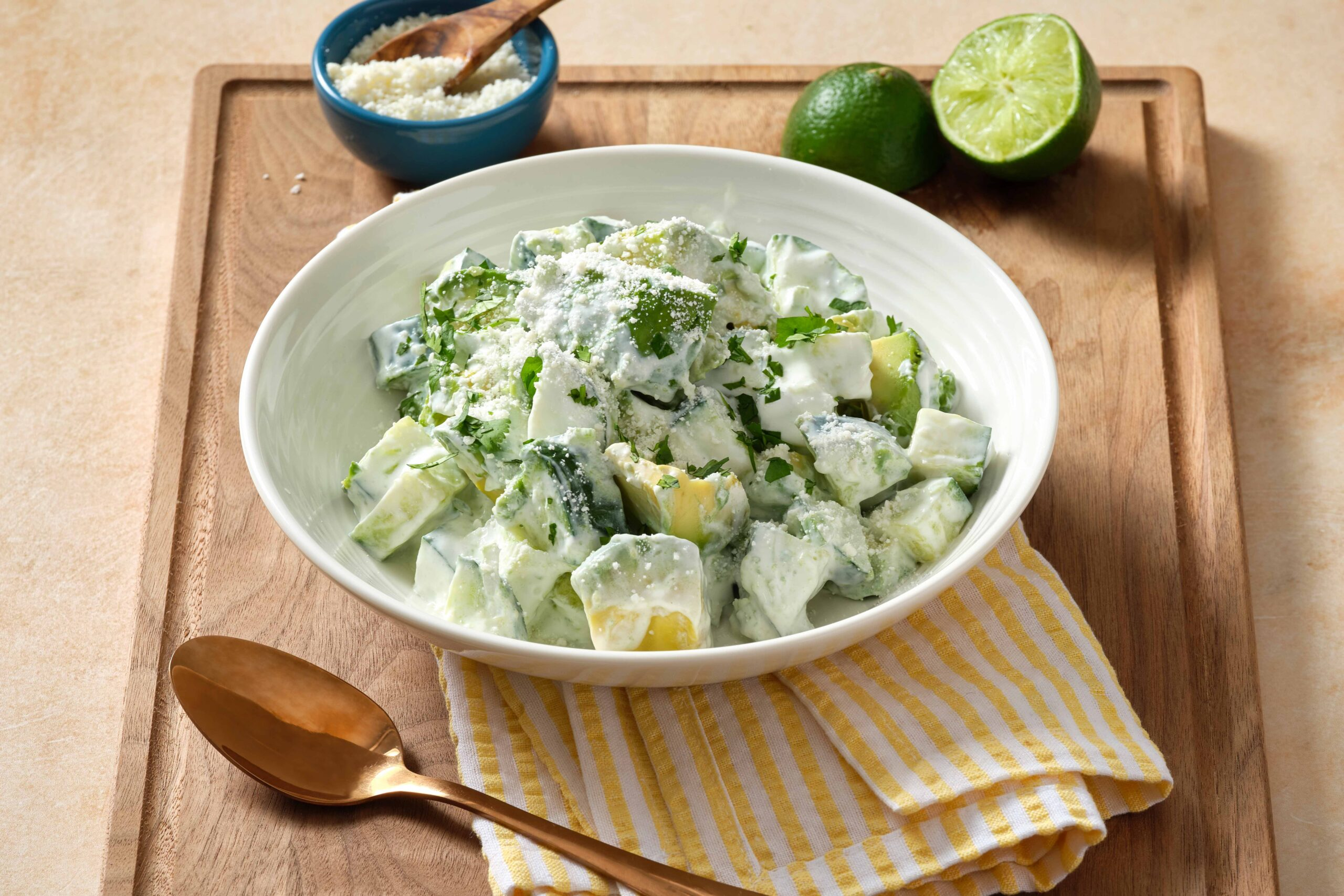 Avocado and Cucumber Salad